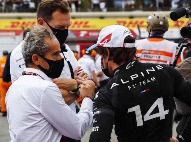 Alain Prost, Fernando Alonso