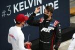 Sheldon van der Linde (Rowe-BMW) und Kelvin van der Linde (Abt-Audi)