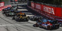 Start zum Honda Indy Toronto der IndyCar-Saison 2019
