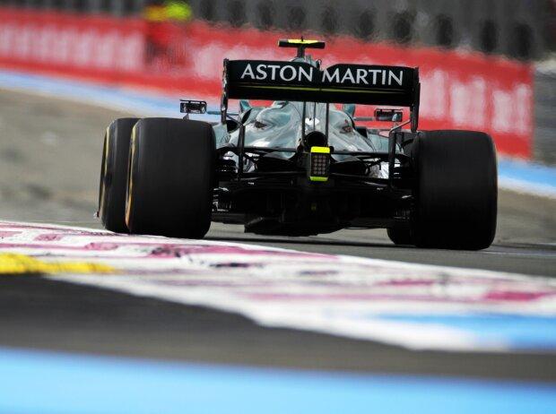 Sebastian Vettel (Aston Martin) beim Grand Prix von Frankreich in Le Castellet (Circuit Paul Ricard) 2021