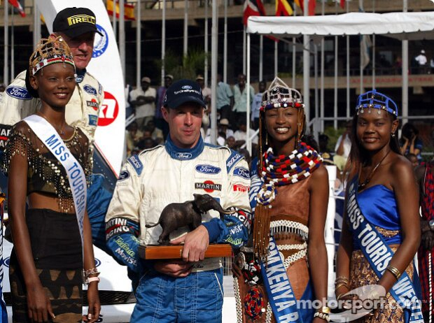 Colin McRae: Sieger der Safari-Rallye 2002 in Kenia