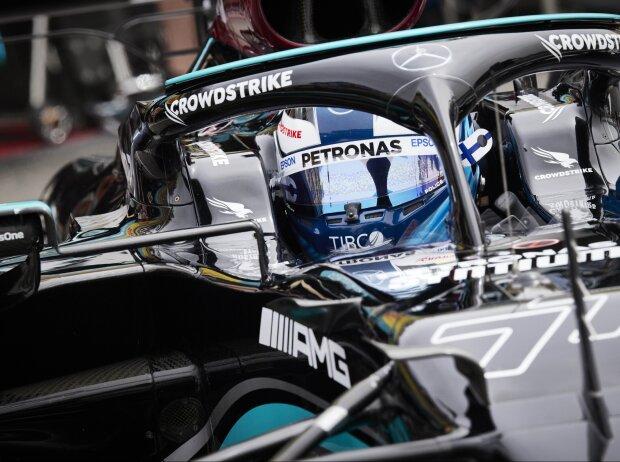 Valtteri Bottas (Mercedes) beim Grand Prix von Frankreich in Le Castellet (Circuit Paul Ricard) 2021