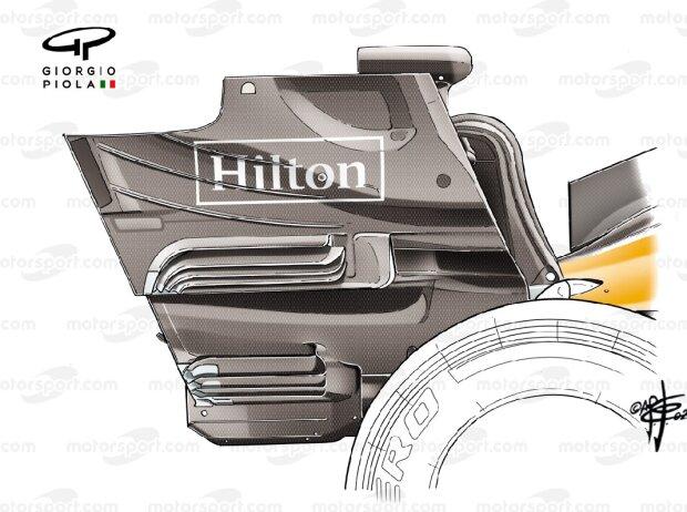 McLaren-Heckflügel