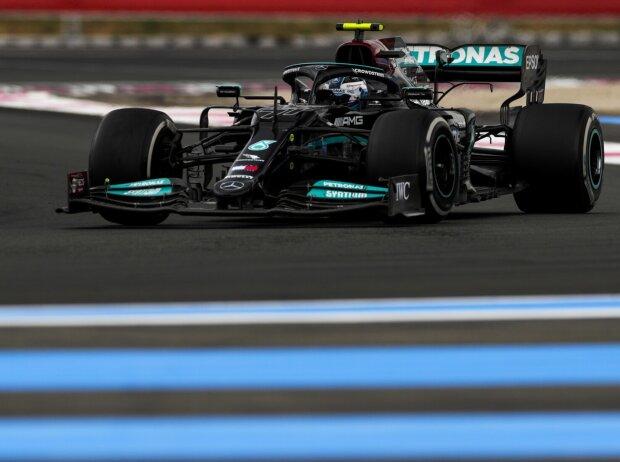 Valtteri Bottas beim Frankreich-Grand-Prix 2021 in Le Castellet im Mercedes W12