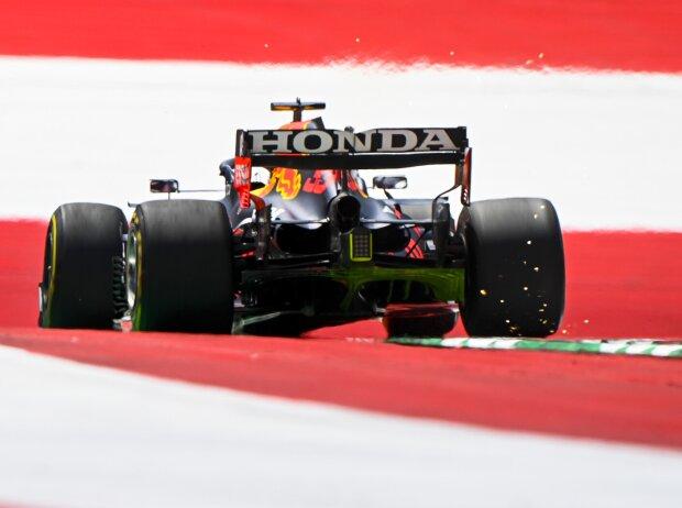 Max Verstappen im ersten Freien Training zum Grand Prix der Steiermark auf dem Red-Bull-Ring in Spielberg (Österreich) 2021
