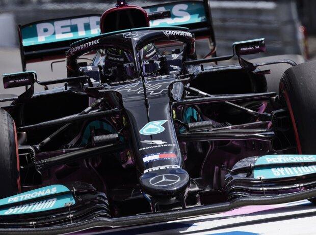 Lewis Hamilton (Mercedes) im Training zum Grand Prix der Steiermark auf dem Red-Bull-Ring in Spielberg (Österreich) 2021
