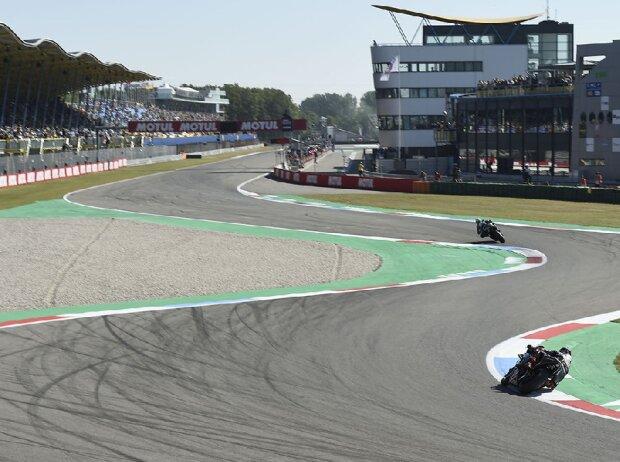 MotoGP-Action auf dem TT-Circuit in Assen
