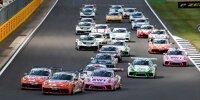 Porsche-Supercup, Silverstone, Start