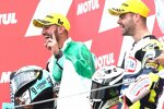 Dennis Foggia (Leopard) und Romano Fenati (Max Racing)
