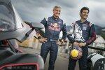 David Coulthard und Mark Webber