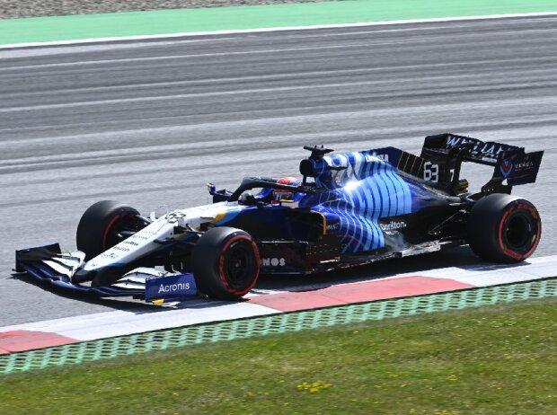 George Russell (Williams) beim Großen Preis von Österreich der Formel 1 am Red Bull Ring in Spielberg
