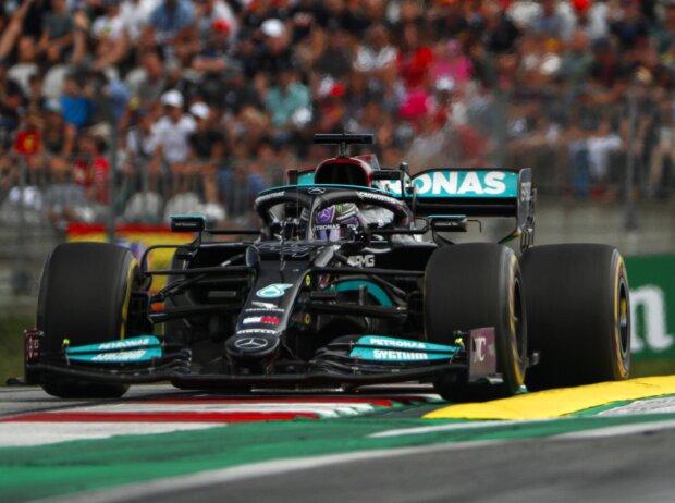 Lewis Hamilton (Mercedes) im Großen Preis von Österreich auf dem Red-Bull-Ring in Spielberg