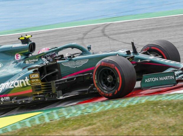 Sebastian Vettel im Aston Martin AMR21 beim Grand Prix von Österreich der Formel 1 2021 am Red-Bull-Ring in Spielberg