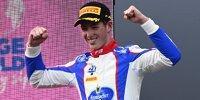 David Schumacher feiert in Spielberg (Österreich) seinen ersten Formel-3-Sieg