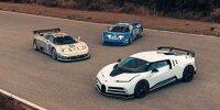 Bugatti EB 110 und Bugatti Centodieci