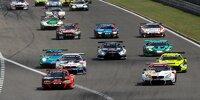 Start zu einem Rennen der Nürburgring-Langstrecken-Serie (NLS, vomals VLN)