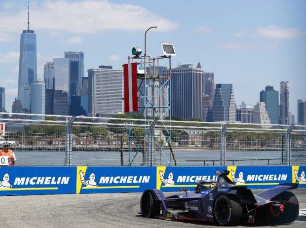 Formel E auf dem Brooklyn Street Circuit in New York