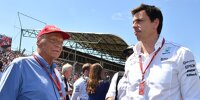 Toto Wolff, Niki Lauda