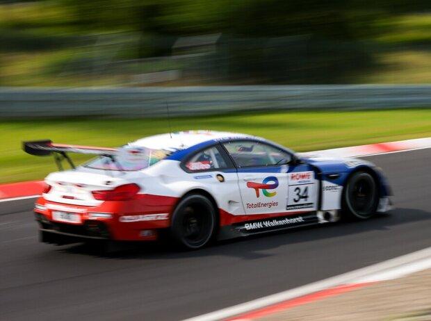 BMW M6 GT3 des Teams Walkenhorst beim Rennen der Nürburgring-Langstrecken-Serie (NLS)
