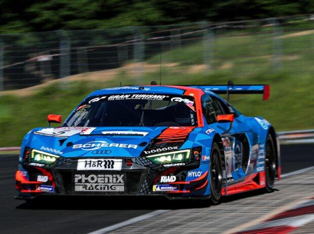 Audi R8 LMS des Teams Phoenix beim Rennen der Nürburgring-Langstrecken-Serie (NLS)