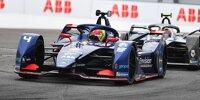 Robin Frijns beim Rennen der Formel E in New York 2021