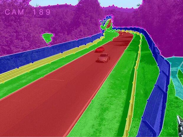 Bild des Überwachunssystems der Nürburgring-Nordschleife