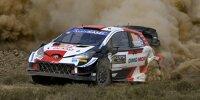 Kalle Rovanperä im Toyota Yaris WRC bei der Safari-Rallye 2021