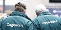 Otmar Szafnauer und Lawrence Stroll im Fahrerlager beim Grand Prix von Österreich auf dem Red-Bull-Ring in Spielberg 2021