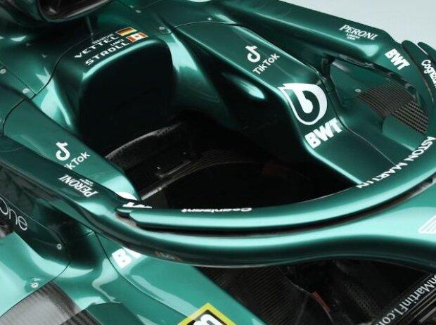Neue Logos: Die Social-Media-Plattform TikTok und das Formel-1-Team Aston Martin haben eine Partnerschaft vereinbart