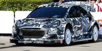 Ford Puma Rally1 beim Goodwood Festival of Speed 2021