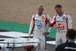 Nikita Masepin (Haas) und Mick Schumacher (Haas)