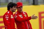 Carlos Sainz (Ferrari) und Charles Leclerc (Ferrari)