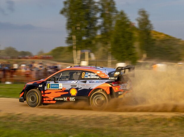 Ott Tänak bei der Rallye Estland 2021
