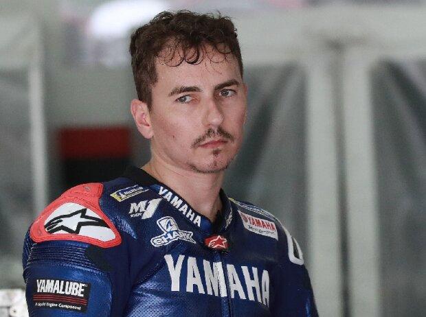 Jorge Lorenzo in seiner Rolle als Yamaha-Testfahrer