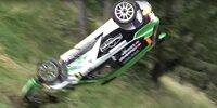 Abflug von Kris Rosenberger bei der Rallye Weiz 2021