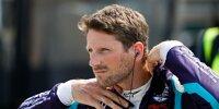 Romain Grosjean im Fahrerlager bei einem Rennen der IndyCar-Serie 2021
