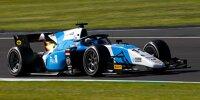 Richard Verschoor beim Rennen der Formel 2 in Silverstone 2021
