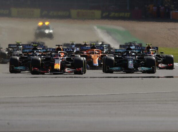 Lewis Hamilton, Max Verstappen, Valtteri Bottas, Charles Leclerc