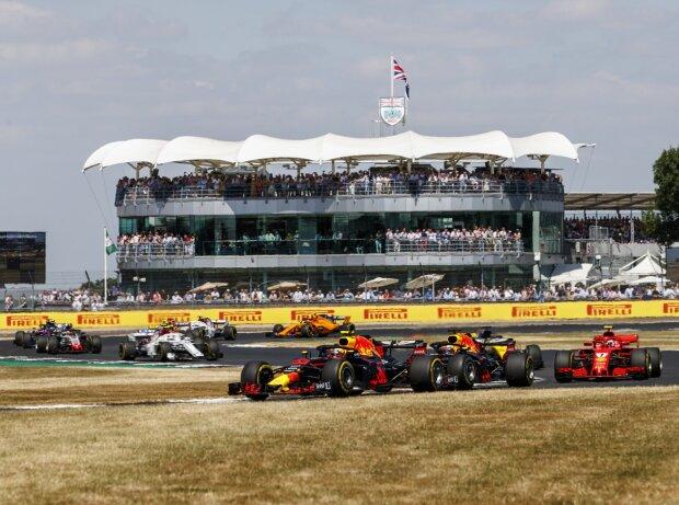 Max Verstappen, Daniel Ricciardo, Kimi Räikkönen