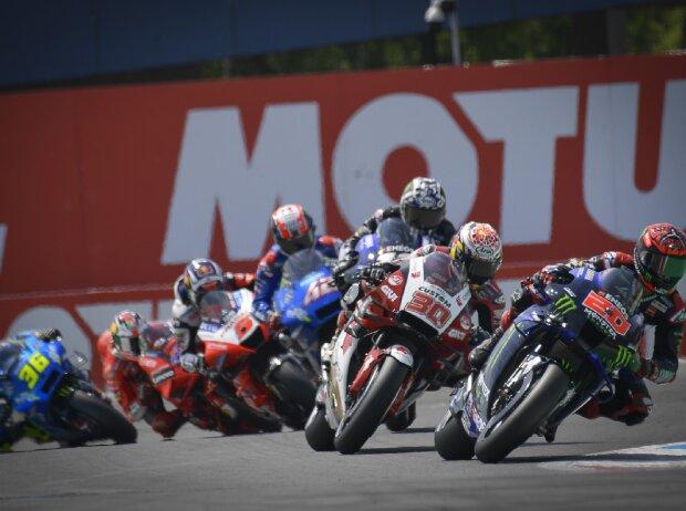 MotoGP-Action beim GP Niederlande 2021 in Assen