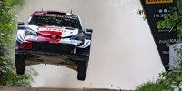 Kalle Rovanperä im Toyota Yaris WRC bei der Rallye Estland 2021