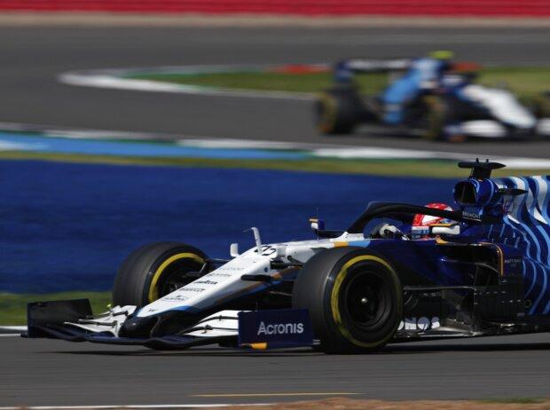 George Russell (Williams) beim Großen Preis von Großbritannien 2021 in Silverstone