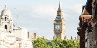 Innenstadt von London mit Big Ben