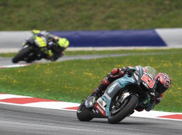 Fabio Quartararo, Valentino Rossi