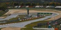 Die Goodyear-Kehre (bisher Dunlop-Kehre) des Nürburgrings