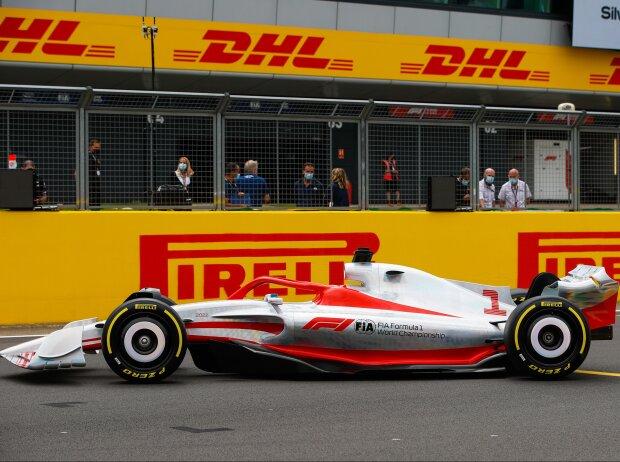 Das neue Formel-1-Auto für 2022
