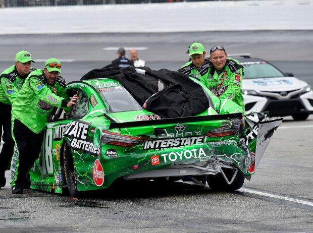 Gibbs-Toyota von Kyle Busch nach Crash in Loudon 2021