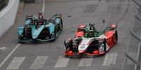 Lucas di Grassi und Mitch Evans beim Training der Formel E in London 2021