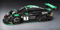 Porsche 911 GT3 R des Teams Schnabel Engineering für die 24 Stunden von Spa 2021