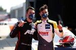 Kelvin van der Linde (Abt-Audi) und Sheldon van der Linde (Rowe-BMW)